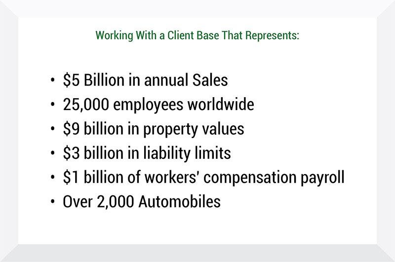 Client Base Representation Chart - Insurance Management Company